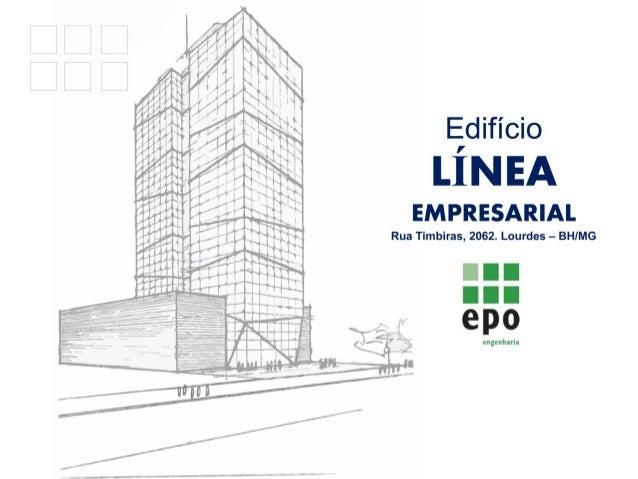 Edifício Línea Empresarial - Lançamento de salas em Lourdes BH 31 9994-2839