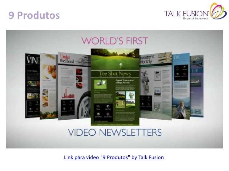 FusionwallExemplo 1:Mural virtual com mostra de videos promocionais.