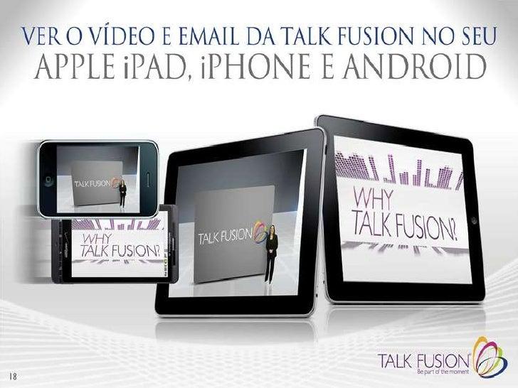 Video conferenciaExemplo 1:Reunião virtual com potenciais clientes, onde se podem mostrar fotografias, documentaçãoe video...