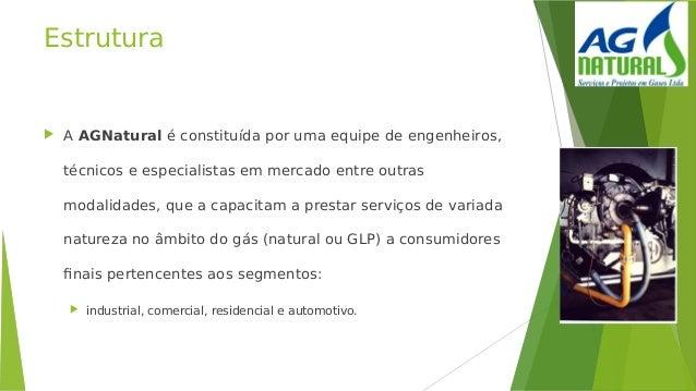 Estrutura  AAGNaturalé constituída por uma equipe de engenheiros, técnicos e especialistas em mercado entre outras moda...