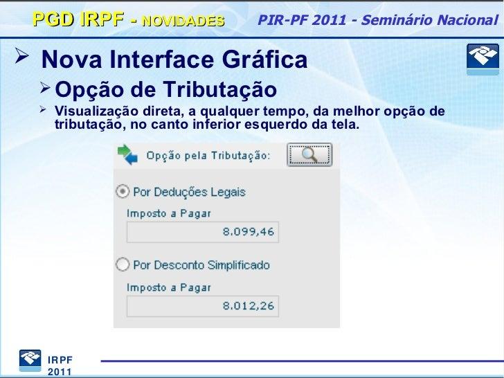 RETIFICAO 2011 PARA BAIXAR IRPF PROGRAMA