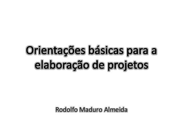 Rodolfo Maduro Almeida