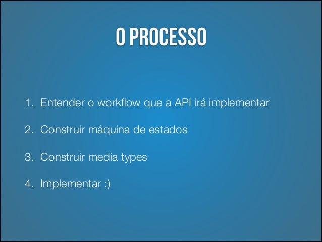 Entender workflow  •  Pensar em termos de processos de negócio  •  Quantos e quais passos serão necessários?