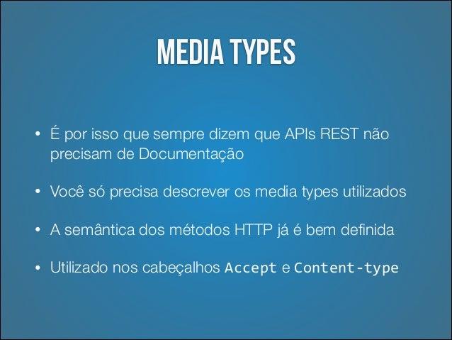 Voltando: Construir media type