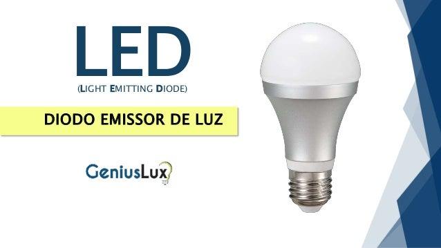 DIODO EMISSOR DE LUZ LED(LIGHT EMITTING DIODE)