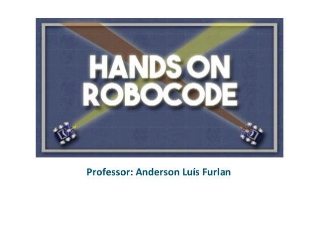 Professor: Anderson Luís Furlan