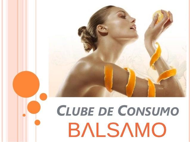 CLUBE DE CONSUMO