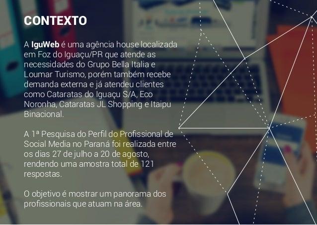 Perfil do Profissional de Social Media - PARANÁ Slide 2