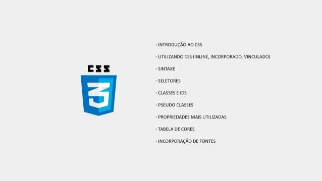 Introdução ao CSS