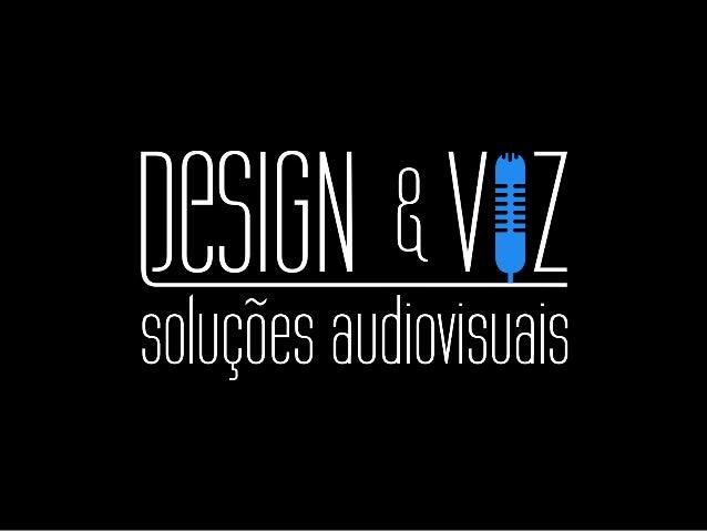 Somos uma empresa que atua na produção de soluções audiovisuais corporativas nos segmentos de: ! VÍDEO Vídeo Corporativo, ...