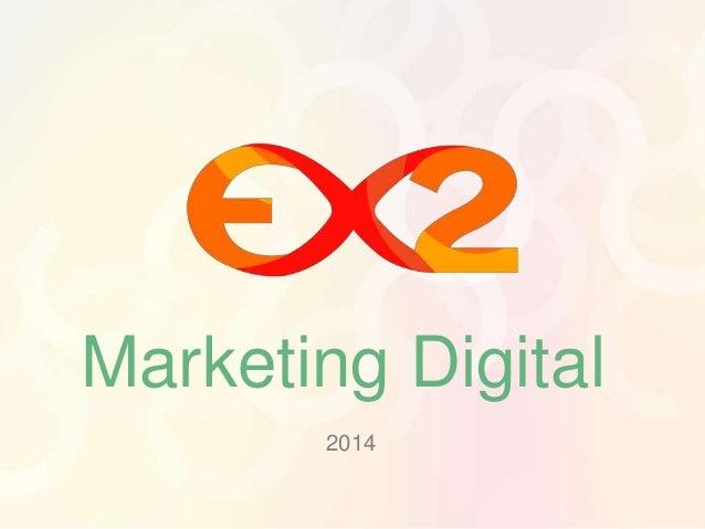 Marketing Digital  2014