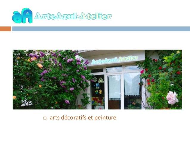  arts décoratifs et peinture