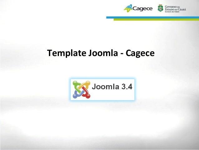Template Joomla - Cagece