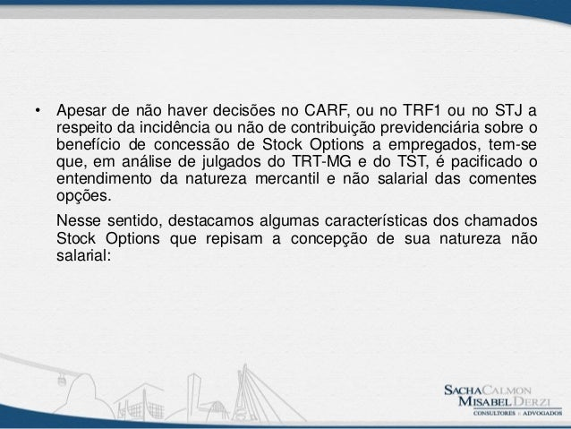 Qual o significado de stock options
