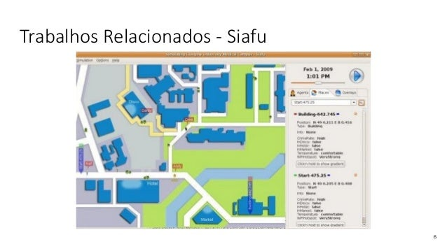 Trabalhos Relacionados - Siafu 6