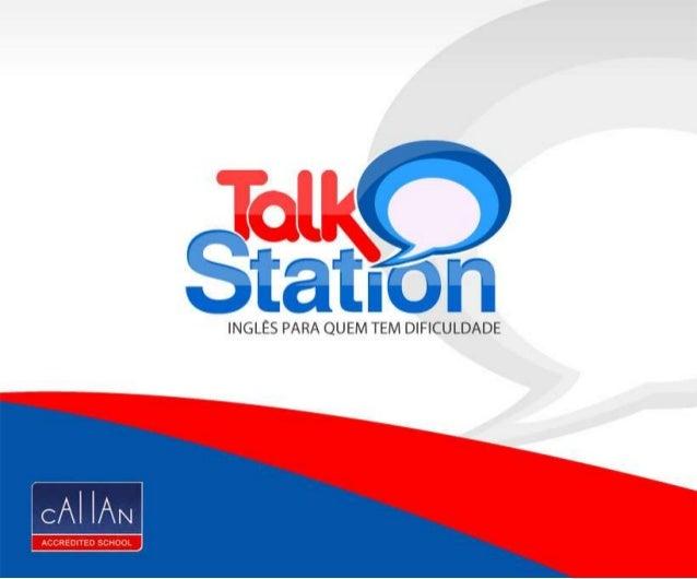 Apresentação Talk Station Idiomas