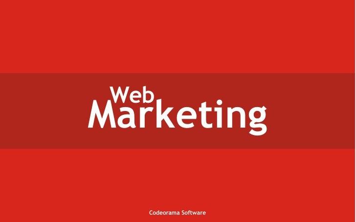Web Marketing     Codeorama Software