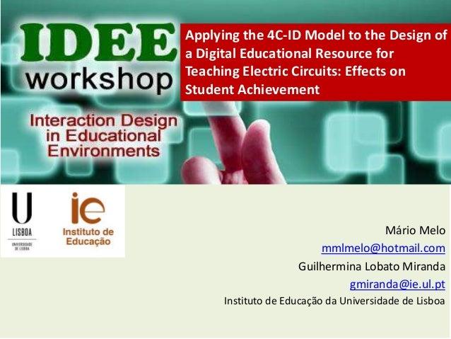 Mário Melo mmlmelo@hotmail.com Guilhermina Lobato Miranda gmiranda@ie.ul.pt Instituto de Educação da Universidade de Lisbo...