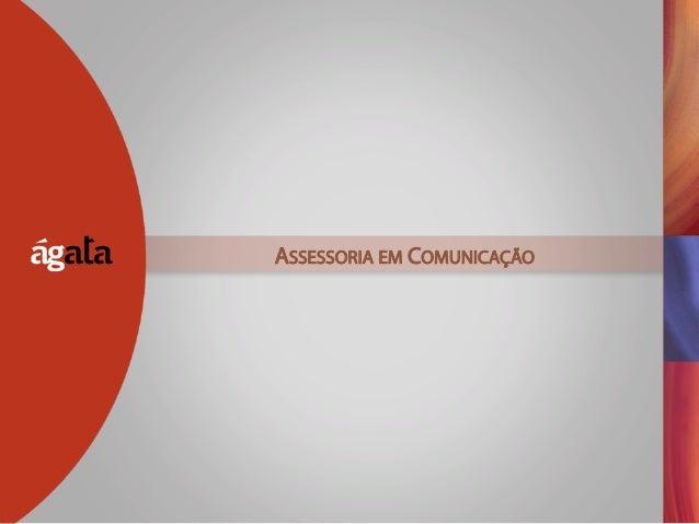 ASSESSORIA EM COMUNICAÇÃO