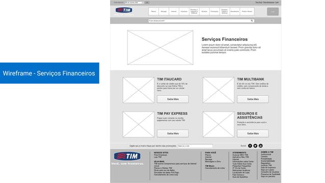 Introdução Benchmark Cardsorting Considerações Finais Wireframes