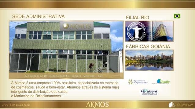 Holding Akmos Nos últimos anos a Akmos vem se estruturando e consolidando através de pilares sólidos rumo ao objetivo, de ...