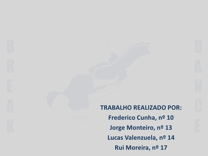 TRABALHO REALIZADO POR: <br />Frederico Cunha, nº 10<br />Jorge Monteiro, nº 13<br />Lucas Valenzuela, nº 14<br />Rui More...
