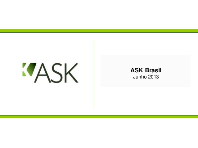 ASK BrasilJaneiro 2013