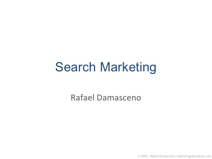 Search Marketing Rafael Damasceno