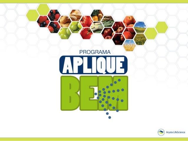 O Programa é uma parceria entre a Arysta LifeScience e o Instituto Agronômico – IAC referência mundial em pesquisa em tecn...