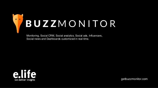 Monitoring, Social CRM, Social analytics, Social ads, Influencers, Social news and Dashboards customized in real-time. get...