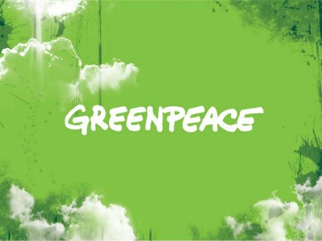 O Greenpeace é uma organização global cuja missão é proteger o meioambiente, promover a paz e inspirar mudanças de atitude...