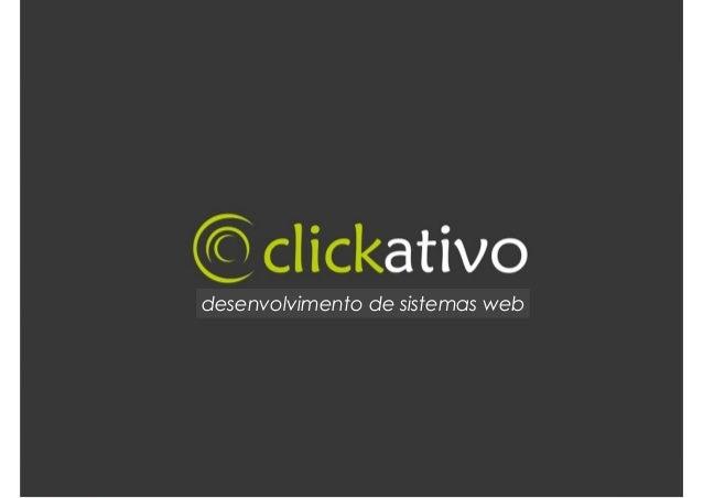 T t desenvolvimento de sistemas web