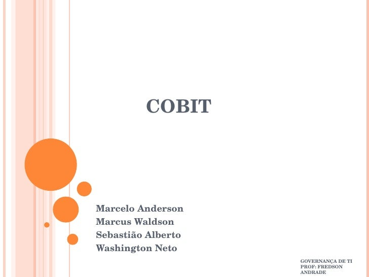 Apresentação Cobit