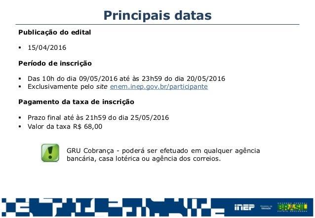 EDITAL DO ENEM 2014 EM PDF