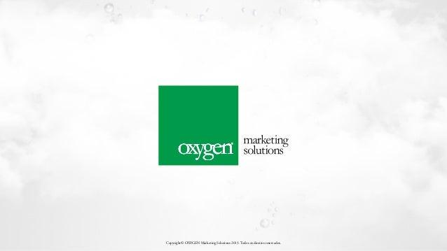 Copyright© OXYGEN Marketing Solutions 2013. Todos os direitos reservados.