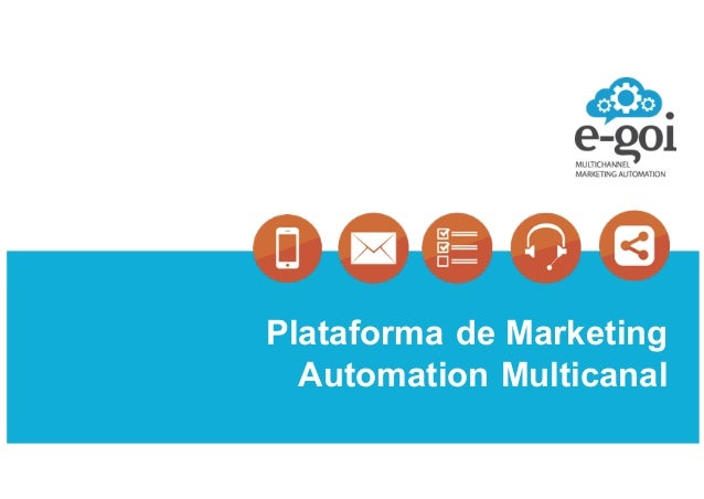 Plataforma)de)Marketing) Automation)Multicanal