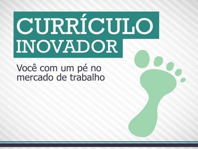 Currículo Inovador | Dayvson Carvalho