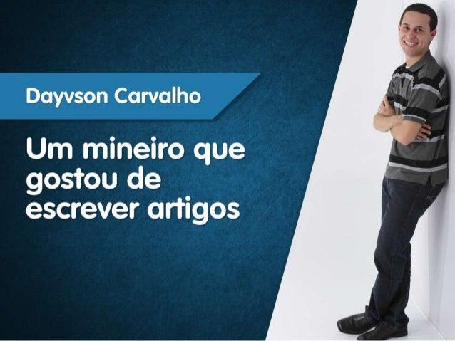 Apresentacao dayvson carvalho