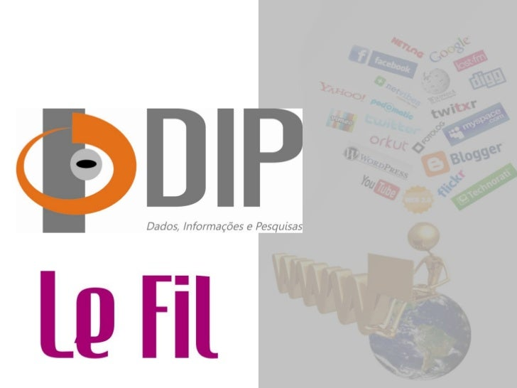 Esta pesquisa foiencomendada pela Le Fil, como objetivo de conhecer o perfil e os hábitos dos usuários de   mídias sociais...