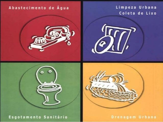 A situação do setor de saneamento básicono Brasil tem conseqüências gravíssimaspara a qualidade de vida da população.É imp...