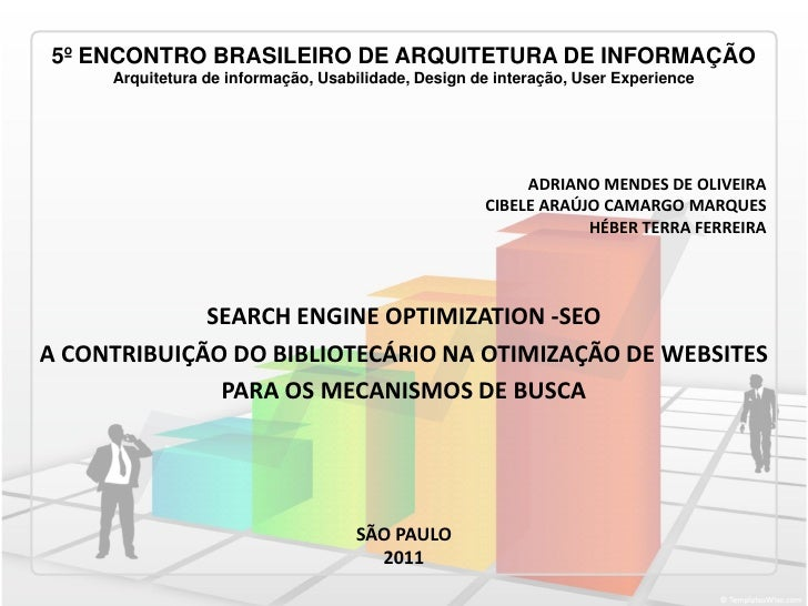 5º ENCONTRO BRASILEIRO DE ARQUITETURA DE INFORMAÇÃO     Arquitetura de informação, Usabilidade, Design de interação, User ...
