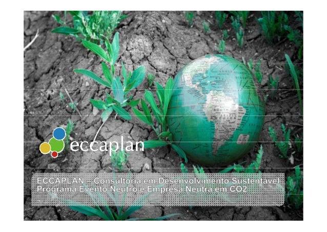 Agenda Eccaplan Neutralização de CarbonoNeutralização de Carbono 2