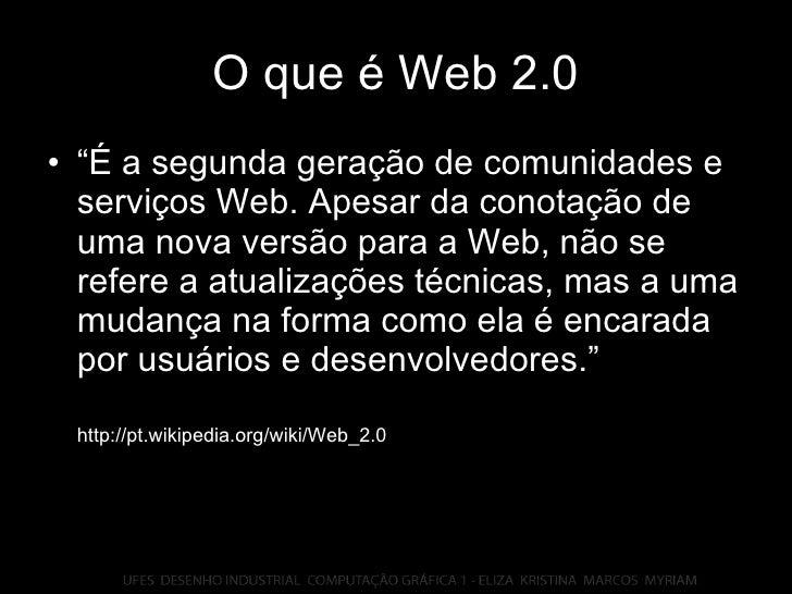 Apresentacao Web 2.0 Slide 3