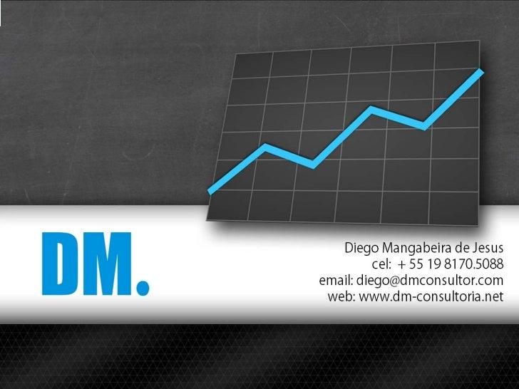 O que é a       ?A DM. é uma empresa que ajuda você a procurar por serviçosque aumentem a sua participação no mercado e na...