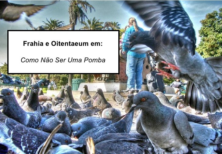 Frahia e Oitentaeum em: Como Não Ser Uma Pomba