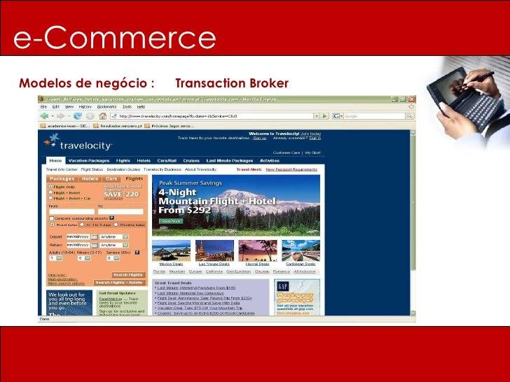 e-Commerce Modelos de negócio :  Transaction Broker