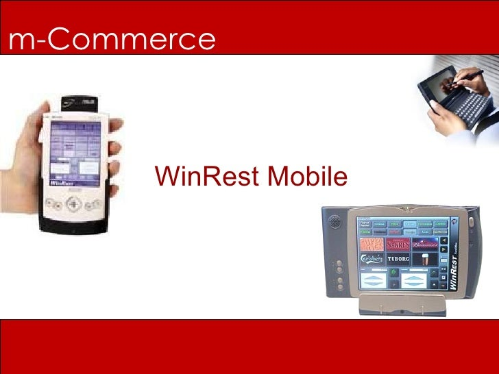 m-Commerce WinRest Mobile