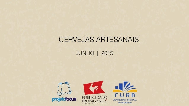JUNHO | 2015 CERVEJAS ARTESANAIS projetofocus
