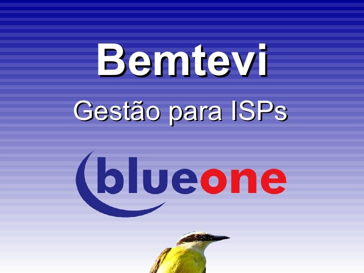Bemtevi Gestão para ISPs