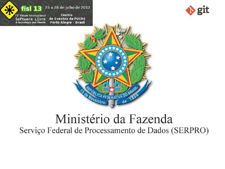GITPalestrante: Flávio Gomes da Silva Lisboa